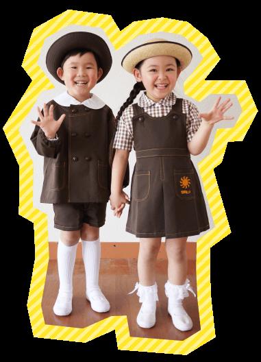 ながもり幼稚園通園の服装
